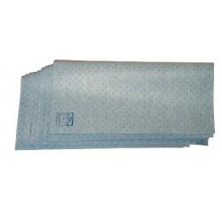Interieurdoek blauw perfo