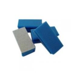 Interieurspons blauw/wit