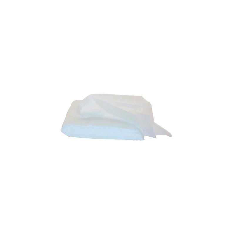 Stofwisdoek wit geimpr. 100st 25x60cm