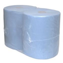 Industriepapier Euro blauw cellulose