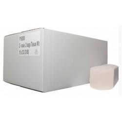Euro handdoekpapier 2-laags ZZ-vouw