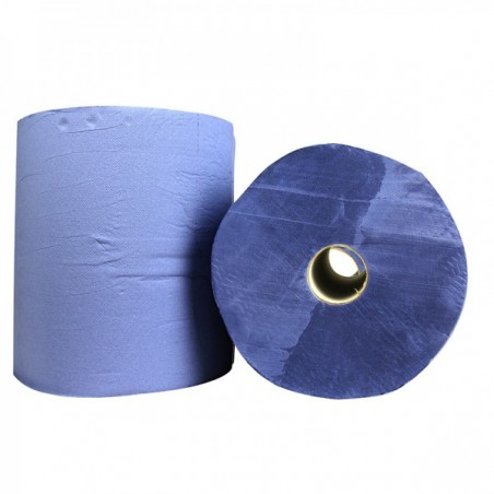 Industrie Papierrol verlijmd 2-laags 22cm 2x380m