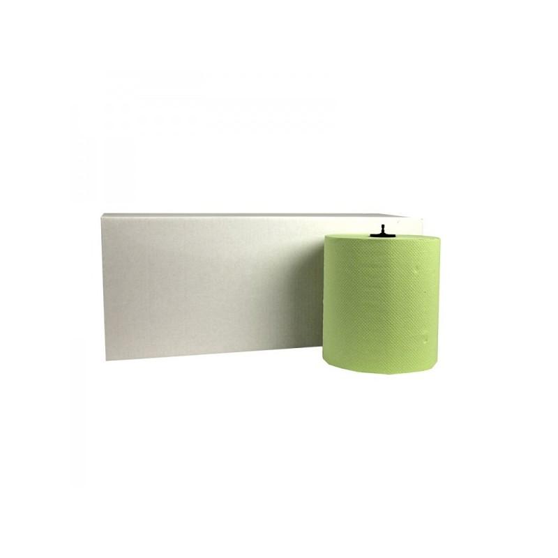 Handdoekrol Matic Cellulose 2-laags 21cm x 150m Groen