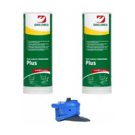 Dreumex Plus starterpakket One2clean 2x3L + handmatige dispenser