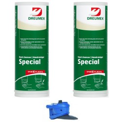 Dreumex Plus starterpakket One2clean 2x3L + handmatige dispenser